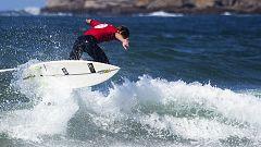 Victorias de Bonomelli y Suárez en el Festival Escuela Cántabra de Surf