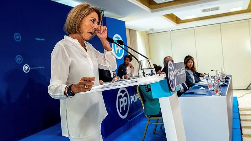 Cospedal deja la Presidencia del PP en Castilla-La Mancha