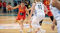 Baloncesto - Torneo Cuadrangular preparación Mundial Femenino: España-Argentina