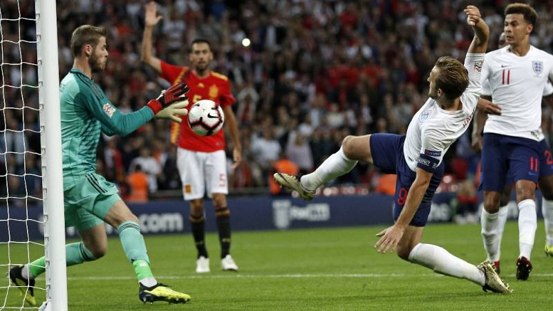 Fútbol - UEFA Nations League 2018: Inglaterra-España - ver ahora