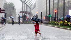 Fuertes lluvias en Levante, Aragón, Ibiza y ambas Castillas