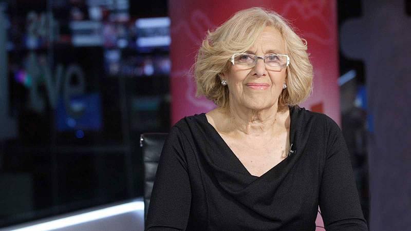 La alcaldesa de Madrid, Manuela Carmena, está cada vez más cerca de buscar un segundo mandato