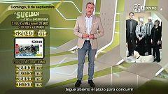 Sorteo ONCE - 09/09/18
