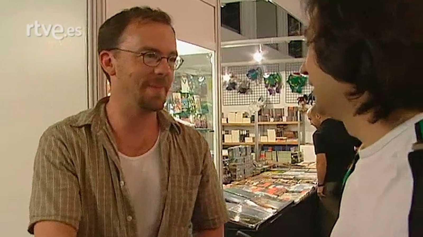 Reportaje de Miradas 2 sobre el Salón del cómic de Barcelona de 2005