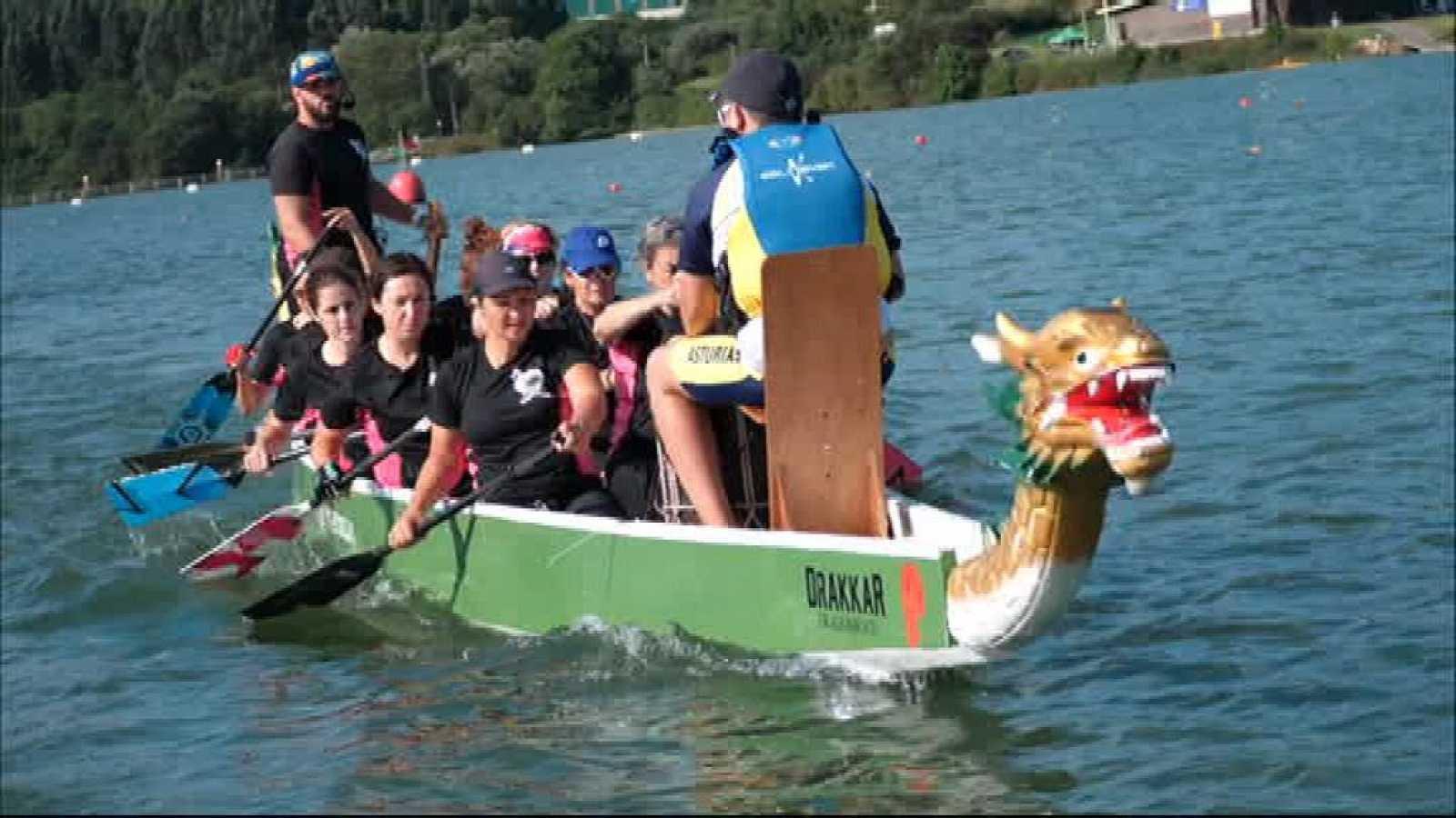 Piragüismo - Campeonato de España Barco Dragón desde Trasona (Asturias) - ver ahora