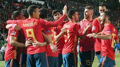 Fútbol - UEFA Nations League Post-partido España - Croacia desde Elche (2)
