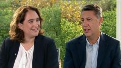 Los desayunos de TVE - Xavier García Albiol, Pte. del PP de Cataluña, y Ada Colau, Alcaldesa de Barcelona