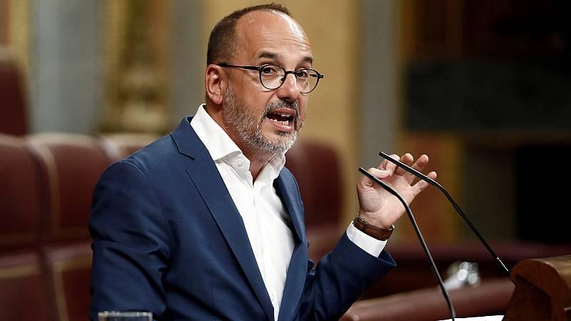 """El PDeCAT pide en el Congreso abrir un proceso de diálogo con la Generalitat """"sin imposiciones ni impedimentos"""""""