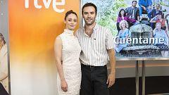 """Telediario - Ricardo Gómez y Elena Rivera: """"Nuestra boda es peculiar"""""""