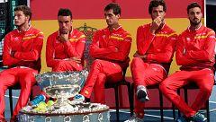 Copa Davis: Los jugadores españoles, optimistas ante Francia