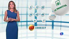 Lotería Nacional + La Primitiva + Bonoloto - 13/09/18