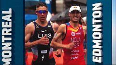 Triatlón - ITU World Series. Prueba Montreal (Canadá). Resumen