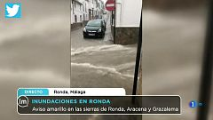 La Mañana - Las fuertes lluvias provocan el caos en Ronda