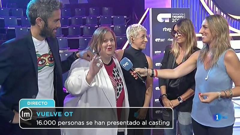 La Mañana - Roberto Leal y Noemí Galera anuncian las novedades de la Academia de 'OT 2018'