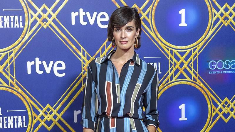 """Telediario - Paz Vega sobre su personaje: """"Belice es un personaje extraño y misterioso"""""""