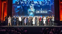 Corazón - El elenco de 'El Continental' sobre la alfombra roja de la premiere