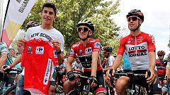 "Vuelta 2018 | Marc Márquez: ""He llegado a ponerme a 80km/h encima de una bicicleta"""