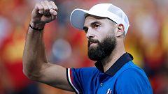 Tenis - Copa Davis Semifinales: Francia - España (1r partido individual)