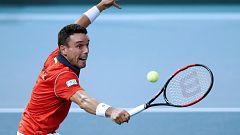 Tenis - Copa Davis Semifinales: Francia - España (2º partido individual)