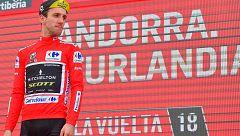 Vuelta 2018. Yates mira más lejos a sus rivales