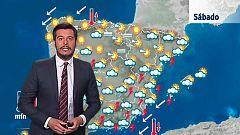 Tormentas en el sur, este, Baleares y Melilla