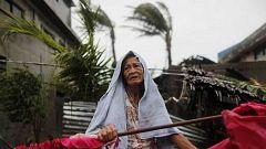 El tifón Mangkhut se debilita ligeramente tras salir del territorio de Filipinas rumbo a China