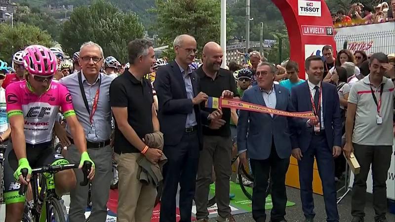 Vuelta Ciclista a España 2018 - 20ª etapa: Andorra. Escaldes Engordany - Coll de la Gallina. Santuario de Canolich  (1) - ver ahora