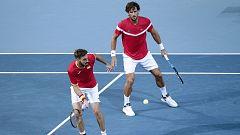 Tenis - Copa Davis Semifinales: Francia - España  (3º dobles)