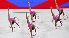Gimnasia rítmica - Campeonato del Mundo Competición General Grupos el 'B' desde Sofía (Bulgaria)