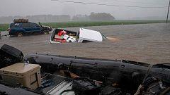 """Florence deja al menos 11 muertos y  lluvias """"épicas"""" que desbordan ríos en EE.UU."""