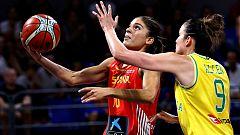 España se impone a Australia en la final del Torneo de Tenerife (65-62)