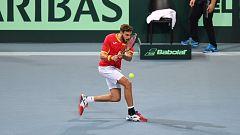 Tenis - Copa Davis Semifinales: Francia - España (4º individual)