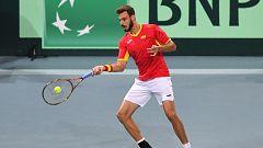 Tenis - Copa Davis Semifinales: Francia - España (5º individual)