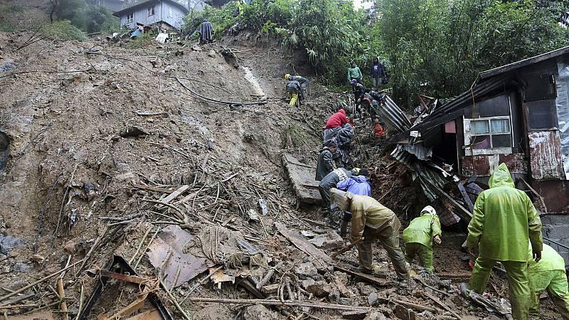 Filipinas busca a los supervivientes y hace balance de los destrozos del tifón Mangkhut