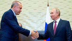 Putin y Erdogan buscan un compromiso sobre la provincia siria de Idleb