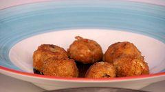 Torres en la cocina - Buñuelos de marisco