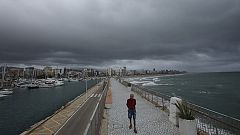 Inestabilidad y chubascos fuertes en las Baleares y en C.Valenciana
