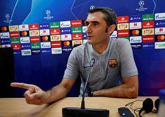 """Valverde dice que el Barça tiene """"una motivación extra"""" para la Champions"""
