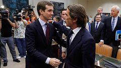 """Aznar ve """"exagerado"""" definir al PP como un partido corrupto: """"Jamás he sido imputado ni llamado a declarar como testigo"""""""