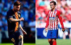 Barcelona y Atlético abren la temporada de Champions ante PSV y Mónaco