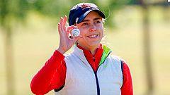 Celia Barquín, adiós a una promesa del golf español