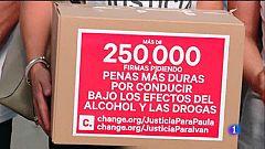 250.000 firmes al Congrés per augmentar les penes als conductors beguts o drogats