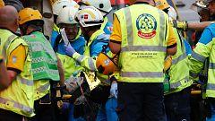 Un fallecido y otros once heridos tras un derrumbe en las obras del hotel Ritz de Madrid