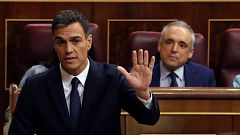 Sánchez defiende la legalidad de la enmienda para sortear el veto del Senado y Casado le pide que convoque elecciones