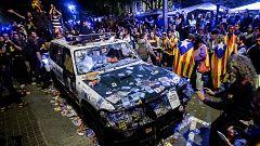 Se cumple un año del asedio a la Consellería de Economía que motivó el encarcelamiento de los 'Jordis'