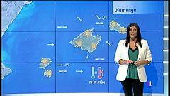 El temps a les Illes Balears - 21/09/18
