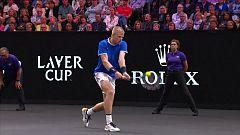 Tenis - Laver Cup 2018: 2º partido individual: K. Edmund - J. Sock