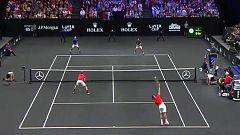 Tenis - Laver Cup 2018: 1º partido dobles: N. Djokovic/R. Federer - K. Anderson/J. Sock
