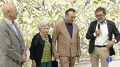 Francisca Artigues ha reinterpretado la obra de su hijo Miquel Barceló