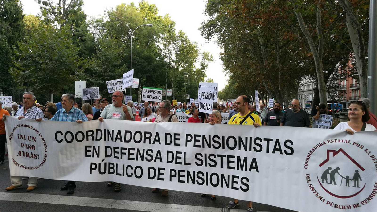 """Los pensionistas vuelven a reclamar que las pensiones suban """"al menos"""" lo mismo que el IPC"""